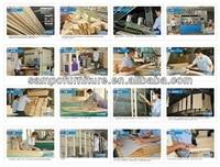 из массивного дерева двойной кровать / дети мебель для спальни # СП-c009s комплект