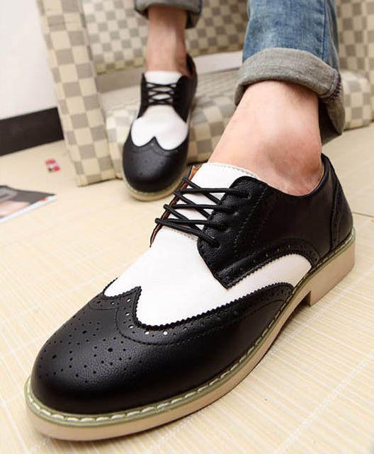 весна новых людей высокое качество кожа обвинение комфорт wage туфли оптовая продажа цена 1 пара