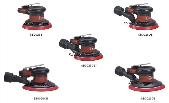 595156734 582 - Air Random Orbital Sander 3M Color Body 6 inch Sanding Disc Pad Pneumatic Tool Polisher Air Dual Action Palm Sander NON VACUUM