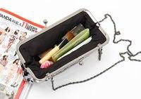 новое постулат женская Workout новинка мини-сумки сцепления / Банкетный сумка / вечерняя сумма zp564