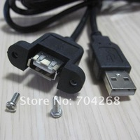 1 м USB 2.0 а до вилочная часть в женское панель гора + шнек расширение кабель