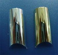 бесплатная доставка 70x в brozing золото улыбка французский маникюр искусственные ногти ногтей советы