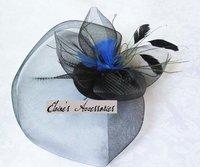 минимальный. заказ $ 15, мода черный головные уборы составляют гренадин и особенности