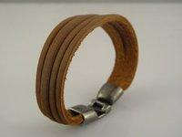 стильная мужская натуральная кожа браслет браслеты многоцветный смешивать