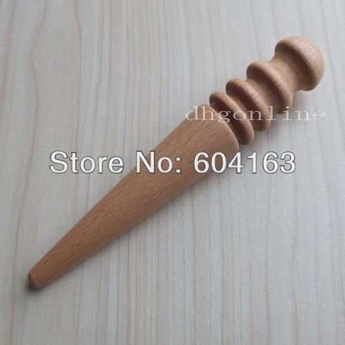 Multi-Size Burnisher Leather Craft Edge Round Slicker Wood Leathercraft Tool NP