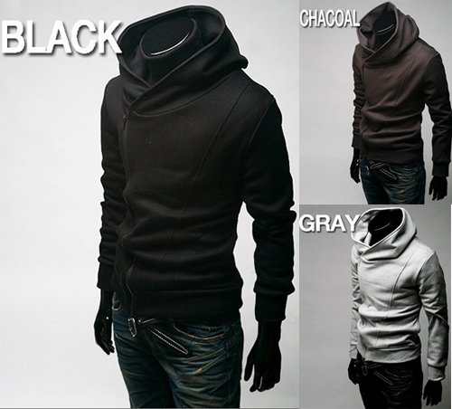 Fashion Casual Designer Men Jacket Men Hoodies Jacket Men Black ...