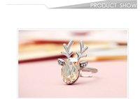 neoglory красивое кристалл ювелирные изделия дизайнер оптовых моды кольцо для женщин