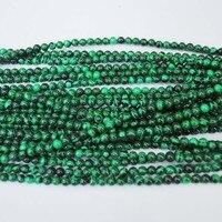 450 шт./лот, зеленый малахит камень, полудрагоценный драгоценный камень, бусины и аксессуары, размер : 4 мм