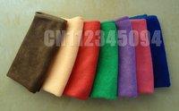 бесплатная доставка 20 шт./ультра-абсорбент лот микрофибры чистка одежды из микрофибры полотенца 25 * 25 см