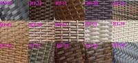 плетеная из ротанга патио кушетка лежак scrb-066