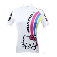 новых женщин велоспорт джерси езда на велосипеде одежда райдер рубашка paladinsport не радуга и китти dx75 / 77