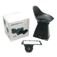 жк-видоискатель поиска для Sony НИС-3 НИС-5 с 3 ' В4 оптических линз 2,8 х мягкий и резиновые глаз кубок