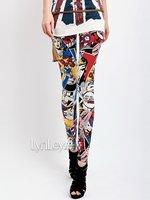 осень панк женщины мэрилин монро Comics леггинсы клуб брюки