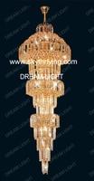 кристалл люстры / к9 кристалл / kristall porch / dia600 * h2500mm