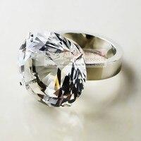 кристалл салфетки кольца ясно