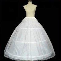горячая распродажа белый 3-Хооп 1 слоя нижняя юбка / нижняя / нижнее / Уэйд платье подъюбник кристаллический свадебные аксессуары