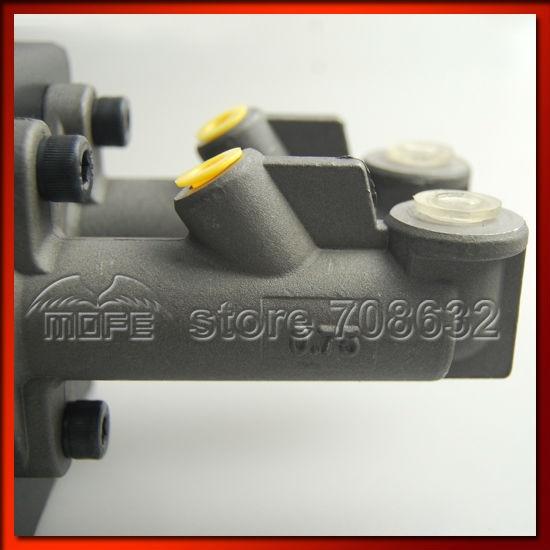 0.75 inch Dual Twin Double Master Cylinders Handles Lockable Vertical Drift Rally Handbrake Hand Brake Hydraulic E-brake DSC_0832