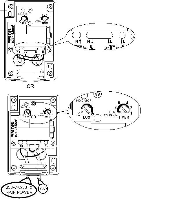 Dusk Till Dawn Light Sensor Plug  U0026 Play
