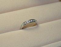 174 # мин. заказ составляет $10, непопулярные продаж, южная корея ювелирные изделия, мода компактный одиночный катушки разбитое стекло кольцо
