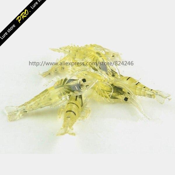 cheiro fedorento camarão 45mm isca camarão mini