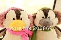 кэндис го! новые плюшевые игрушки пингвин кукла милый любитель носить шарф мягкая игрушка подарок на день рождения 1 шт