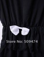 мода шифоновое платье 181416