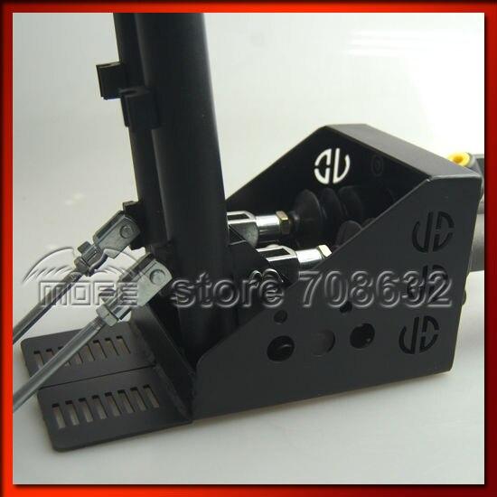 0.75 inch Dual Twin Double Master Cylinders Handles Lockable Vertical Drift Rally Handbrake Hand Brake Hydraulic E-brake DSC_0833