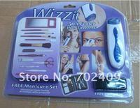 60 компл./лот бесплатная доставка автоматическая поделки триммер комплект в wizzit эпиляторы тела для удаления волос комплект для снятия и триммер комплект как видно по телевизору
