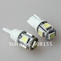 бесплатная доставка продавать 20 шт. свет новый Т10 W5W и 194 5050 5 смд из светодиодов салона свет лампы