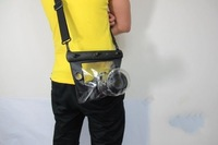 20 м водонепроницаемый дайвинг для бедных съемки чехол мешок камеры DSLR для Canon, Никон Панасоник олимп, бесплатная доставка, оптовая продажа