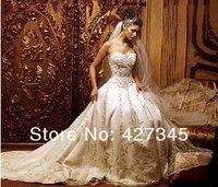 Ф1 на золотошвейные кот атласная милая свадебное платье