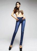 горячая распродажа! бесплатная доставка / джинсы женщина / бренд правда джинсы / новый тонкий карандаш / 3076