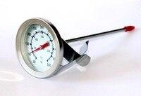 1шт 1.7 «нержавеющая сталь барбекю курильщика яму гриль приготовления пищи мясо термометр длинным стеблем
