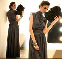 бесплатная доставка! опт/роса! Cartel Seal платье / черный платье чудик