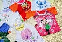 """дети в лето наряд новорожденных девочек """" мальчик в короткая длинными рукавами футболки младенцы унисекс футболки 26 - 30 см смешанный цветов"""