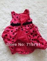 новые девушки мода горошек платье бесплатная доставка 3 шт./лот в наличии быстрая доставка