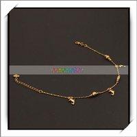 бесплатная доставка, элегантный дельфин сплава ножной браслет позолоченный, уникальный и модный дизайн, 16003095