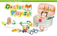 36 шт компактный/лот пластик aбс детские доктор комплект стетоскоп комплект искусственный медицинский бокс anatomised игрушка образовательный