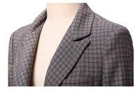 осень и зима, англия пр стиль элегантный мода большой размер дамы пиджак, женская куртка пальто