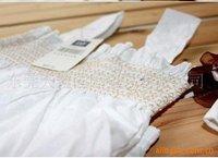 сразу! белый ультра-дешевый тонкий моделей doomagic слинг + брюки + шляпа, три штук комплект