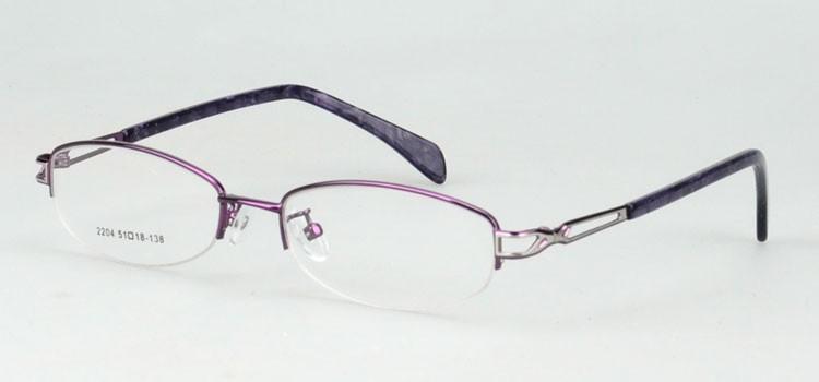 2204-purple high quality optical frame