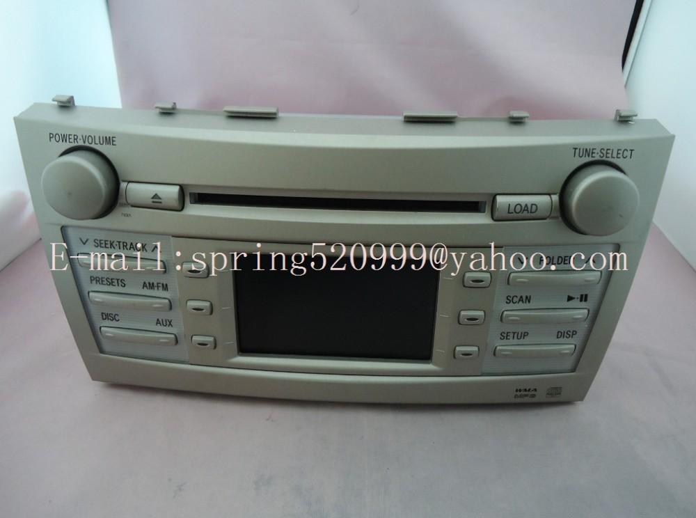 radio cd player Toyota Camry 6 CD radio panasonic mech