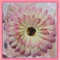 бесплатная доставка! 6 цветов для вашего выбирают 4 'летний цветок ромашка волос зажим для волос цветок волос держатель