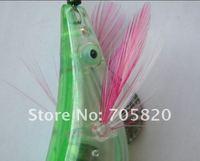оптовая продажа 3.94 дюйм / 0.43 унц., 20 шт./лот промысла кальмаров джиги приманки свтеодиодный фонарик электронный дерево креветки из светодиодов мигает рыболовную приманку
