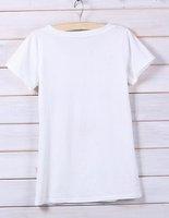 женская монро длинные ресницы сексуальное очарован для майка белый хлопок футболка все-согласованные бесплатная доставка, прямая поставка 121