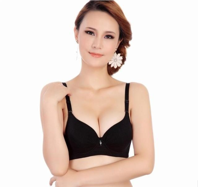 Breast dress bra OL round up bra small breast bra underwear push ...
