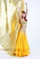 850 сексуальное профессиональный танец живота костюм 2 шт. или 3 шт. или юбка только цвет золотой