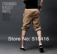 новые женщины мужская свободного покроя спортивный багги гарем капри пиратские шорты короткие брюки бегунов низ бесплатная доставка
