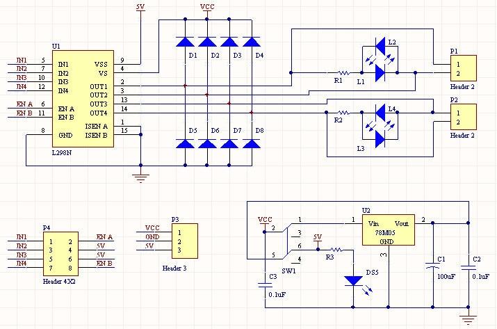 l298 dual h bridge motor driver schematic impremedia net