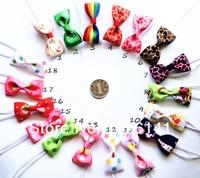 50 шт./лот Crochet cones цвет ленты с Bat + тонкий смолы, девочка ободки, дети аксессуары для волос, детские Hole зануда 080